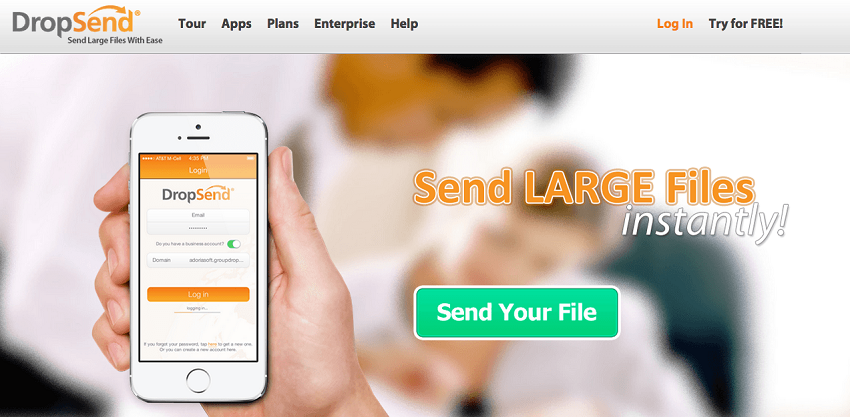send large files by email
