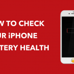 How to check battery health
