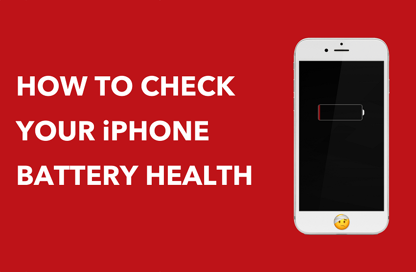 How to check battery health of an iPhone
