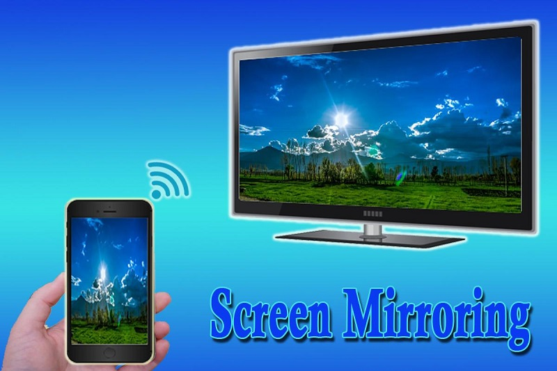 screen mirroring android to TV