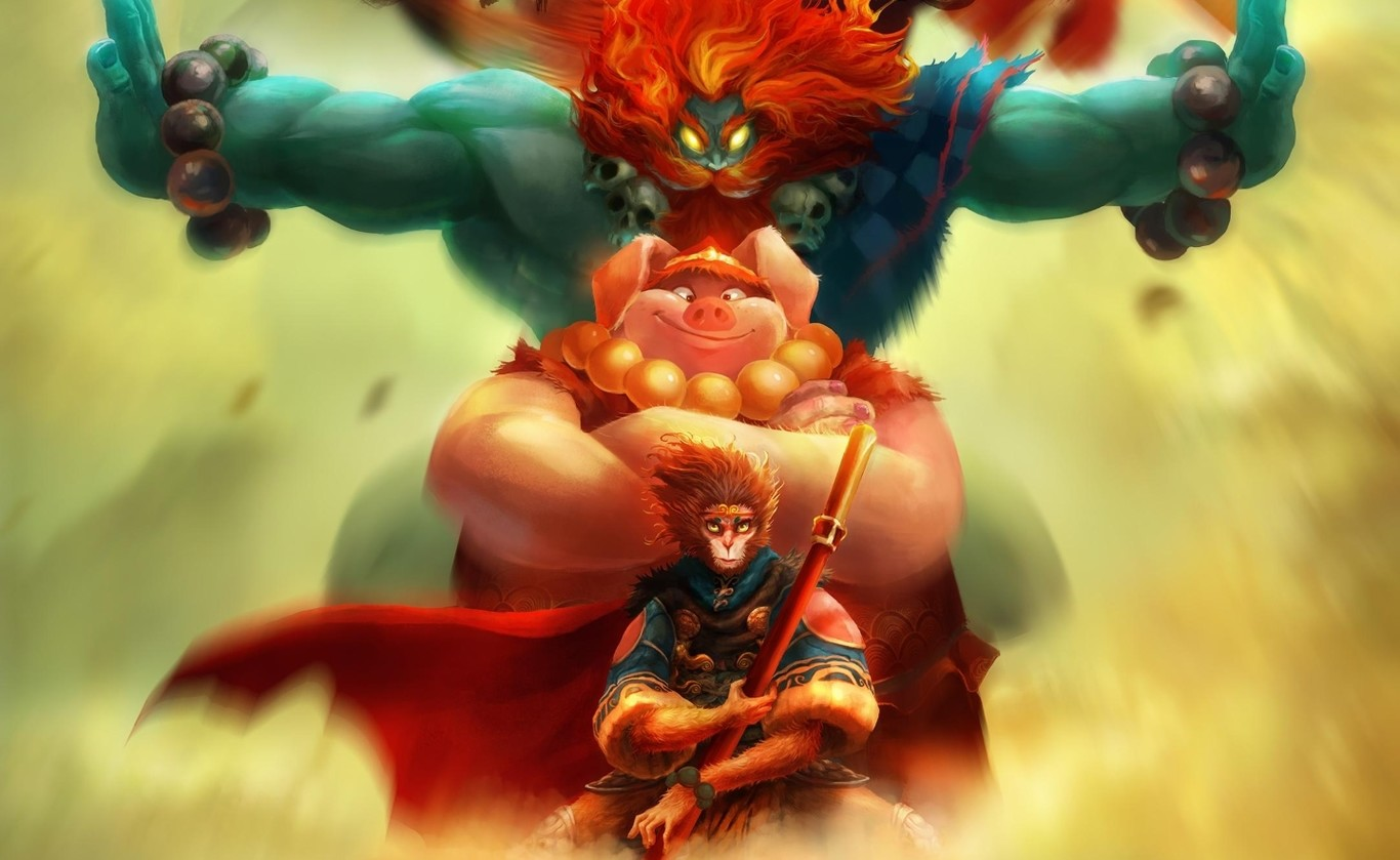 Unruly Heroes, the new mystical adventure of the Monkey King is much more than a caramelito for sight