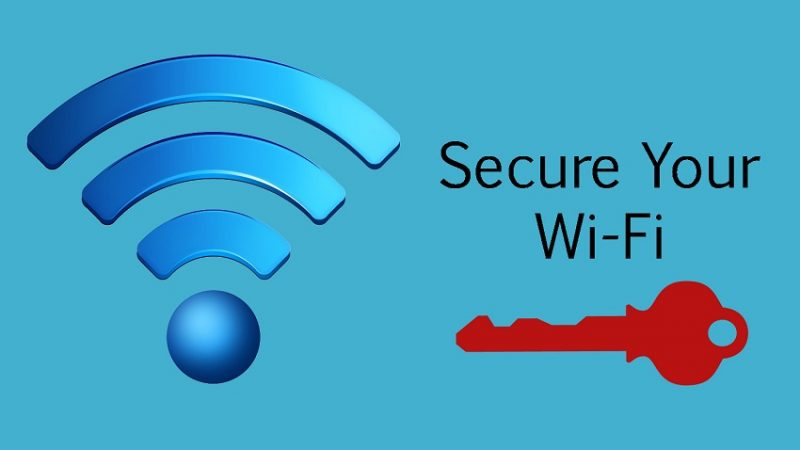 secure your WiFi network