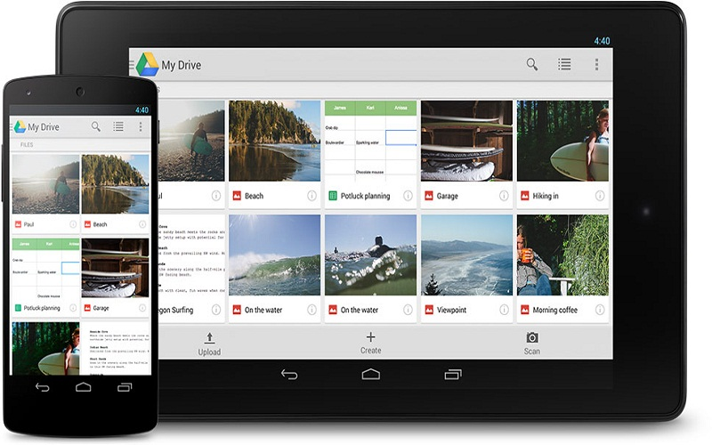 How is Google Drive used?