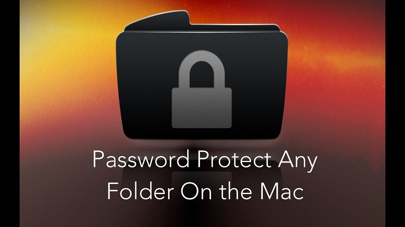 How to put a password to a folder to prevent unauthorized access