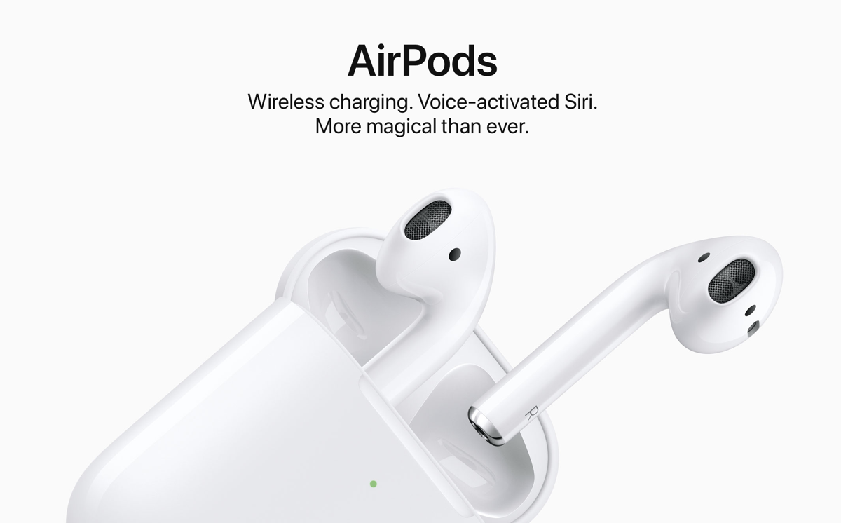 What is known about the upcoming release of headphones Apple Airpods 2?