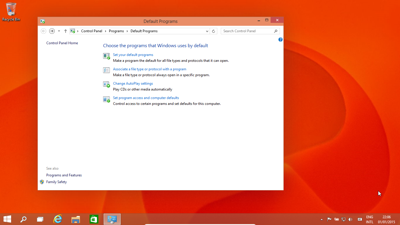 How to Change Default Programs in Windows 10 - Uphill Techno