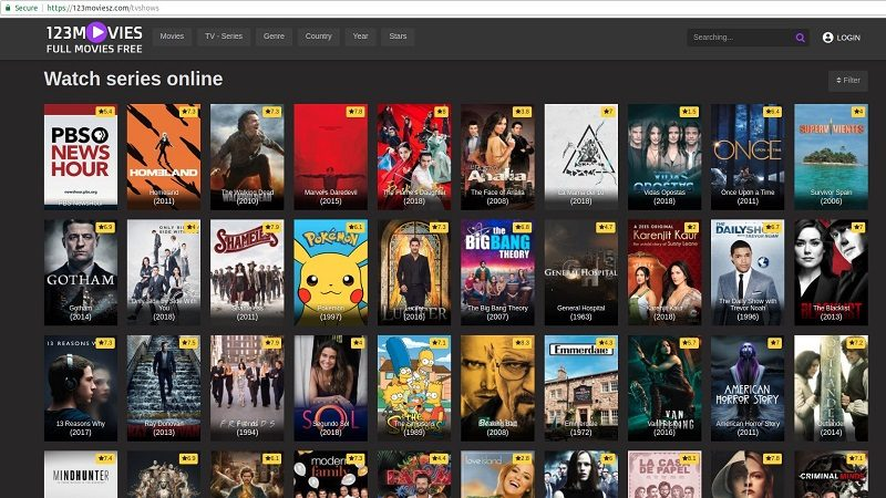 alternatives to 123movies