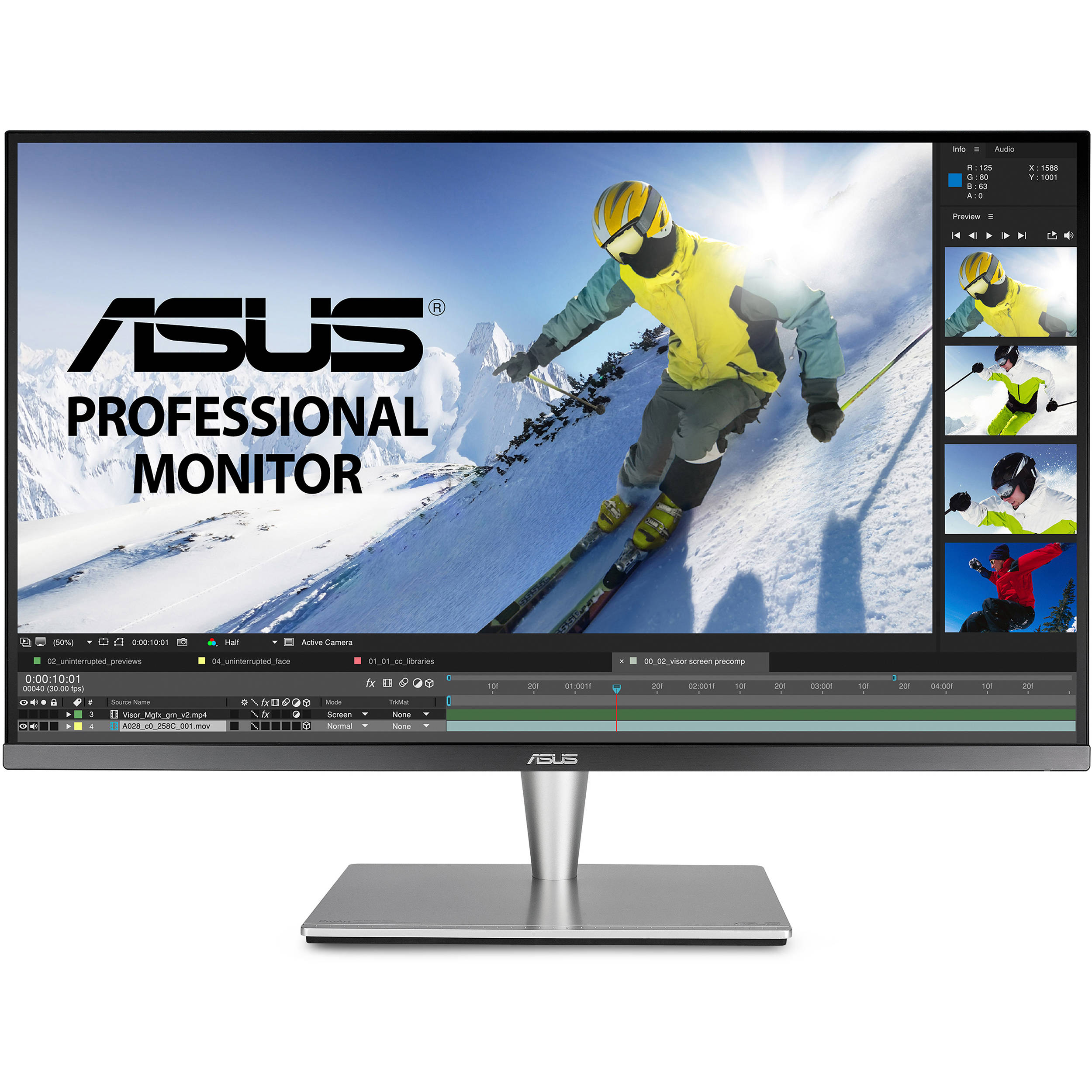ASUS ProArt PA32U, a monitor for professionals
