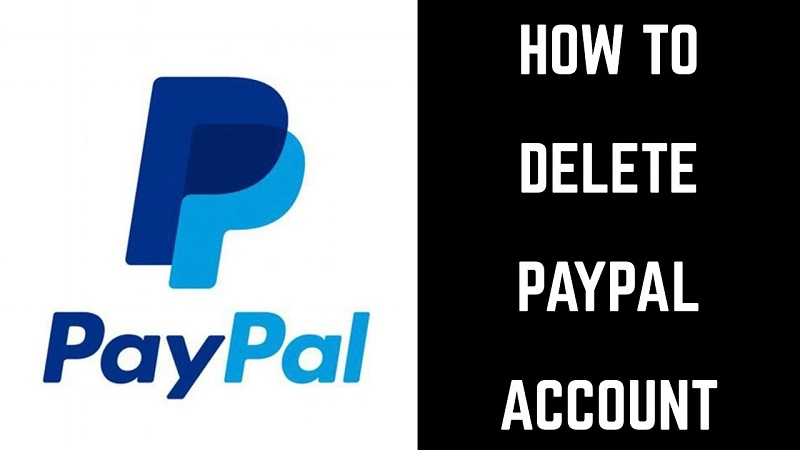 How to delete a PayPal account