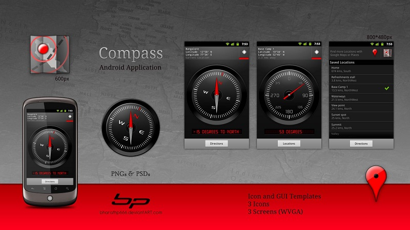 best Android compass apps