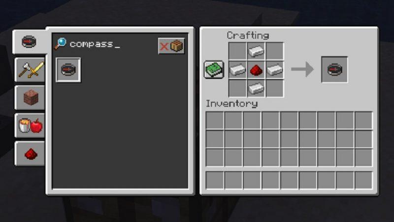 compass in Minecraft